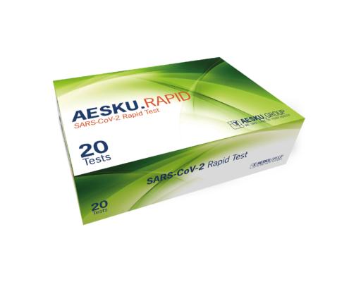 AESKU.RAPID SARS-CoV-2 Rapid Test Box