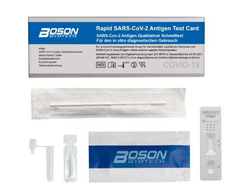 Boson COVID-19 Antigen Schnelltest 1er