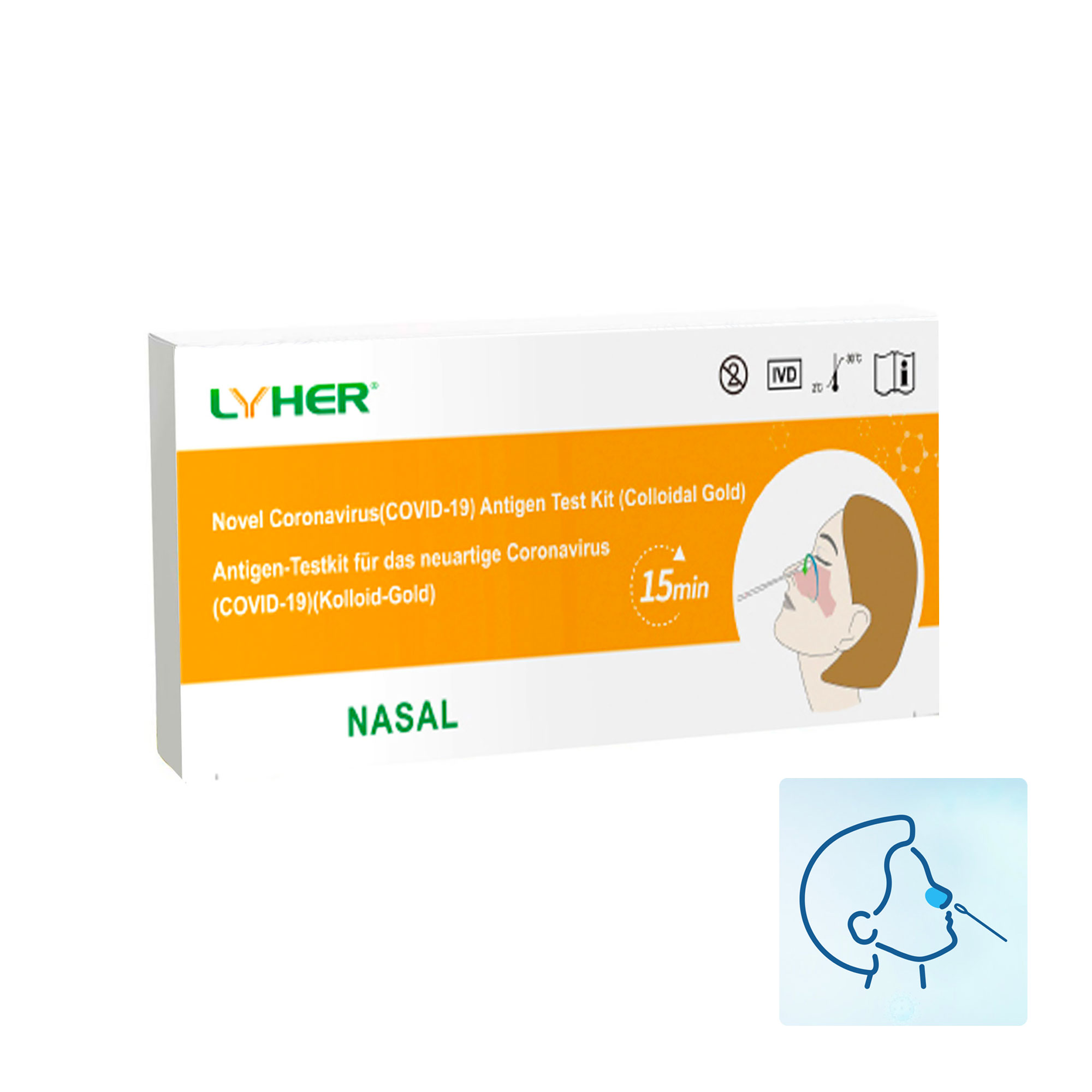 Lyher COVID-19 Antigen Schnelltest