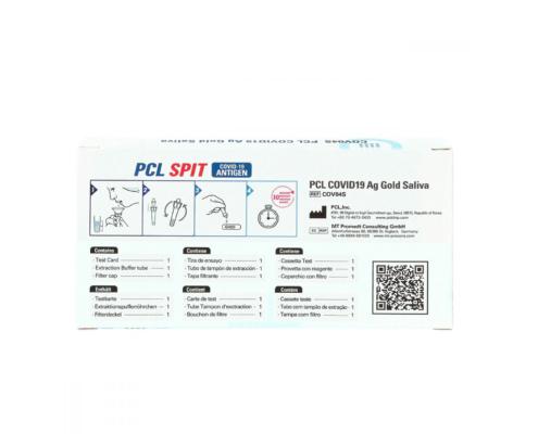 PCL COVID-19 Saliva Spucktest